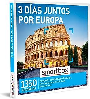 Smartbox - Caja Regalo Amor para Parejas - 3 días Juntos por Europa - Ideas Regalos Originales - 2 Noches con Desayuno o 2...