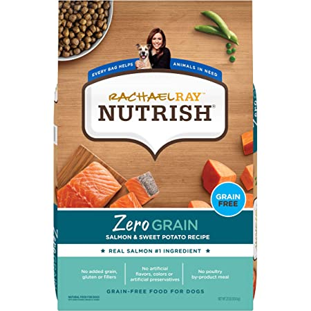 Rachael Ray Nutrish Zero Grain Dry Dog Food with Real Meat, Grain Free (Packaging May Vary)