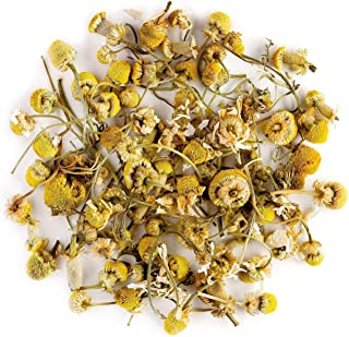 Camomile Organic Herbal Tea Flowers - Soothing and relaxing - Wild Matricaria pure leaf Chamomile - Also called ground apple, low camomilla, mother's daisy or whig plant 100g 3.52 Ounce