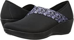 Busy Day Asymmetrical Graphic Wedge