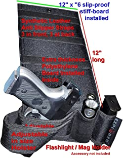 Explorer Tactical Gun Holster for Belt, Bed Mattress car auto Desk Home Office use for Gun 1911