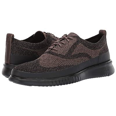 Cole Haan 2.Zerogrand Stitchlite Oxford Water Resistant (Morel Knit/Black) Men