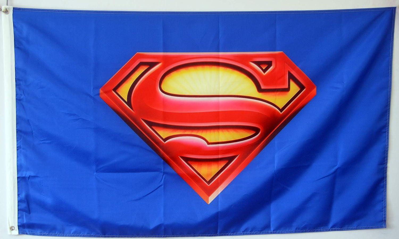 Annfly Superman flag banner 3X5FT Marvel OFFer Dallas Mall