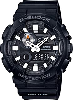 Casio Men's G-Shock XL Series Japanese Quartz Watch with Resin Strap, Black, 29.4 (Model: GAX100B-1A)