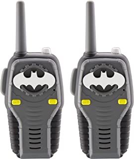 Blue Transmission Batman WT2-01082 Molded Walkie Talkie Flexible Saftey Antenna Power on and Off with a Flick of a Switch Stylish Appearance Pack of 2 Pack of 2