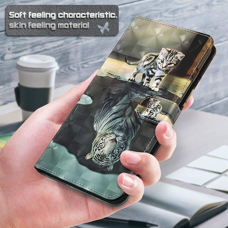 Schutzh/ülle Klapph/ülle Leder Filp Case mit Muster Bunt Kartenfach Magnet Handy H/ülle Etui Cover Handytasche f/ür Galaxy A7 2018 CTIUYA Handyh/ülle f/ür Samsung Galaxy A7 2018 A750 H/ülle A750,Blau