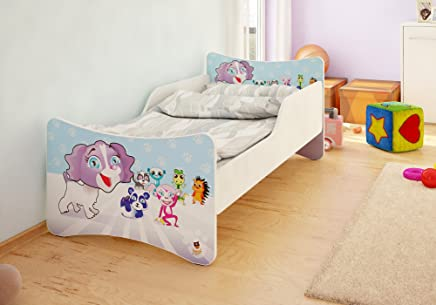BEST FOR Kids Children s Bed With MATTRESS T V CERTIFIED SUPER SELECTION SIZES MANY DESIGNS  80x160  Pet