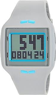 Vestal 'Helm' Quartz Plastic and Polyurethane Casual Watch, Color:Grey (Model: HLMDP23)