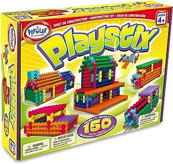Popular Playthings Playstix 150-Piece Set