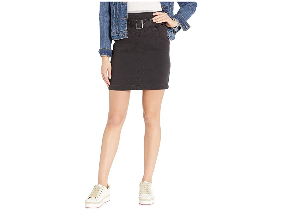 Free People Livin It Up Pencil Skirt (Black) Women