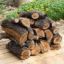 19 kg leña para chimenea variada, alto poder calorífico. Troncos cortos 40 cm, Estufa, barbacoa, fuego al aire libre, troncos de leña.