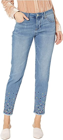Carter Girlfriend Jeans w/ Gems