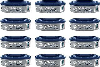 Angelcare Dress Up Navulling voor luieremmer, geurremmend en hoge capaciteit, 12 stuks
