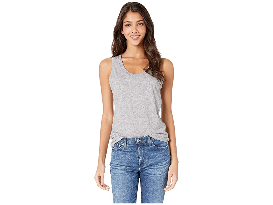 Image of AG Adriano Goldschmied Cambria Tank (Heather Grey) Women's Clothing