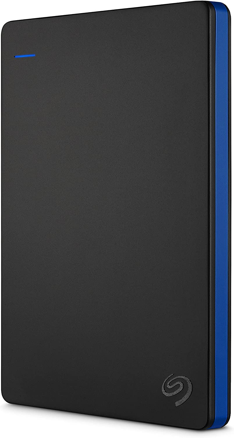 Seagate Game Drive 2TB External Hard Drive Portable HDD Compatible with PS4 (STGD2000400) (Renewed)