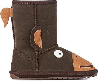 EMU Australia Kids Monkey Tail Deluxe Wool Boots