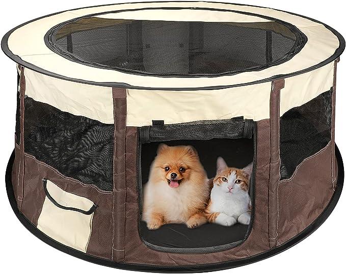 27 opinioni per BestFire Pet Box Puppy Dog Cat Tende Pieghevole Esercizio Gabbia per canile