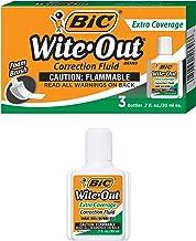Bic Corporation Bicwofec324 Correction Fluid- Extra Coverage Formula- 20Ml- White