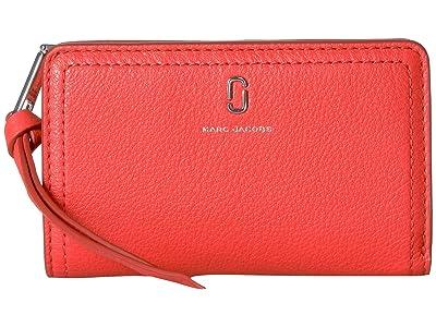 Marc Jacobs Compact Wallet (Geranium) Wallet Handbags