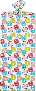 American Greetings Jumbo Plastic Gift Bag Baby Blocks