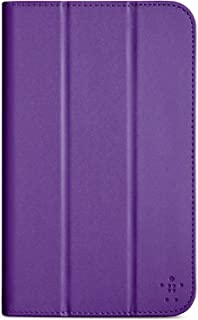 Purple Belkin Smooth Tri-Fold Cover with Stand for Samsung Galaxy Tab 3 - 7.0 inch (Purple)