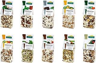 Dr. Ana Collection - Risotto Probierpaket mit Steinpilzen, Spitzmorchel, Gemüse und Pfifferlingen 10x 200g