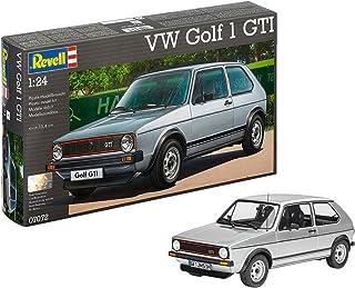 Revell Golf 1 GTI Volkswagen VW Maqueta Coche, Color Plata (