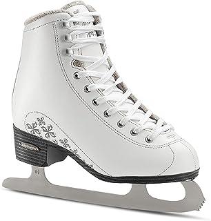 Bladerunner Ice by Rollerblade Aurora Junior Figure Skate, White, Ice Skates, Size 4