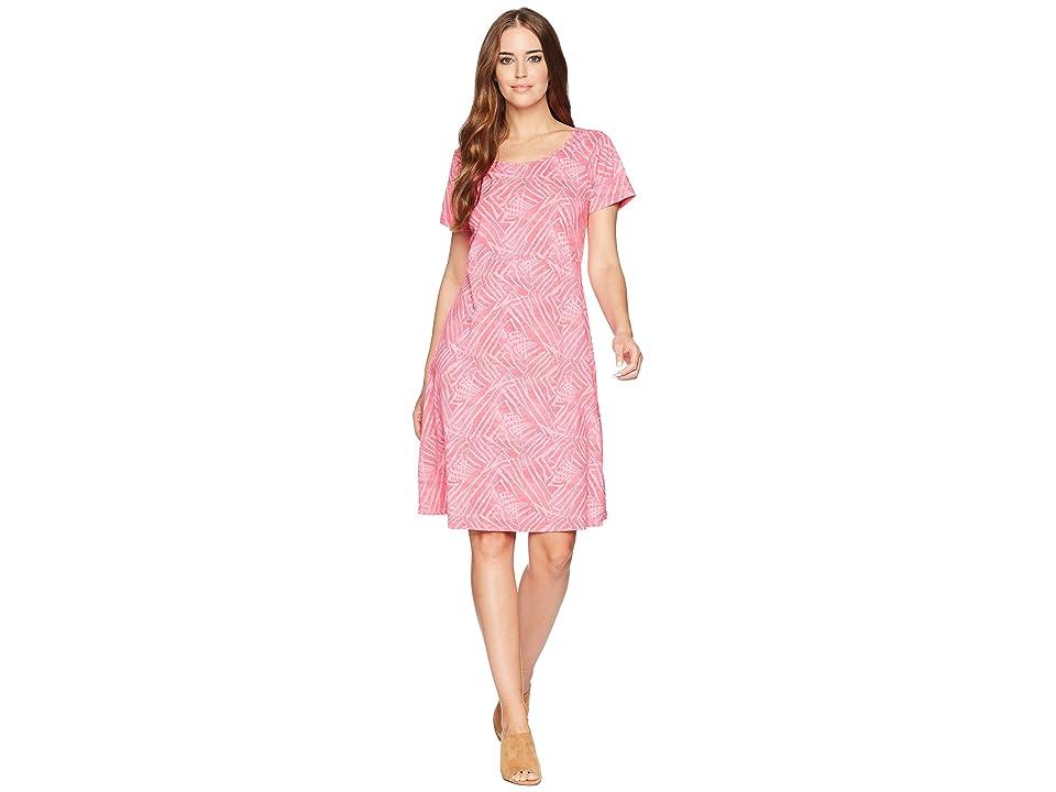 Fresh Produce Ocean Tide Sadie Dress (Papaya Fruit Pink) Women