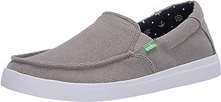 حذاء مسطح للرجال من Sanuk Sideline Linen 2
