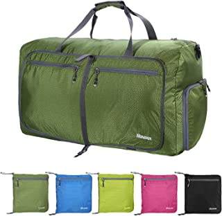 80L Camping Duffel Bag Large Size,Packable Travel Duffle Bags for Men and Women,Waterproof Lightweight Foldable Gym Bag