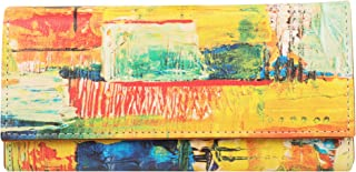 ShopMantra Canvas Women's Wallet (LWSC000113_Multicolored)