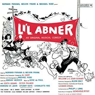 Li'l Abner 1956 Original Broadway Cast