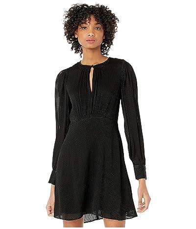 Kate Spade New York Fluid Stripe Dress (Black) Women
