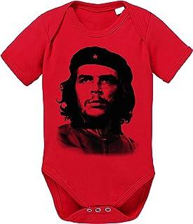 Sambosa Che Guev Baby Strampler Bio Baumwolle Guevara Body Jungen & Mädchen 0-12 Monate