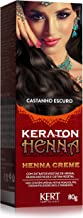 Henna Crème, Keraton, Castanho Escuro