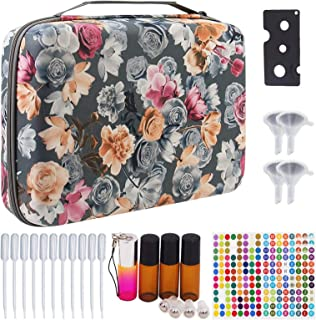 Essential Oils Storage Hold 70 Bottles - Carrying Hard shell Organizer Case for Artnaturals/Young Living/Radha/Doterra Aro...