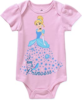 Princess Cinderella Assorted Baby Girls Bodysuit Dress Up Outfit