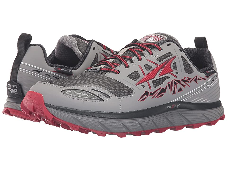 Altra Footwear Lone Peak 3 Neoshell (Gray/Red) Men