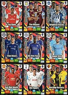 Panini Adrenalyn XL Premier League 2019/20 Full Set of (9) Triple Threat Trading Cards