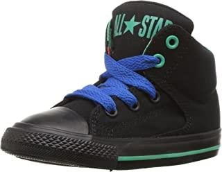 Converse Kids' CTAS High Street-Hi-Black-K