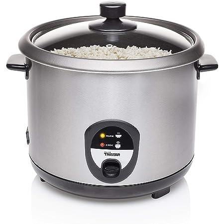 Cuiseur à riz Tristar RK-6129 – 2,2 litre – Fonction de maintien au chaud