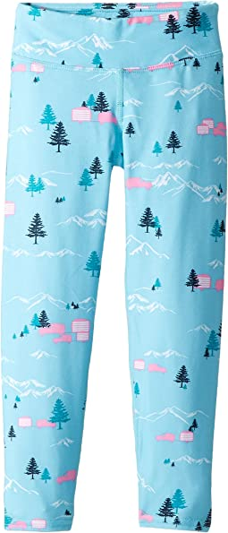 Hot Chillys Kids - MTF Print Ankle Tights (Toddler/Little Kids/Big Kids)