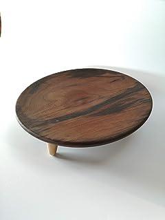 frutero de madera de nogal