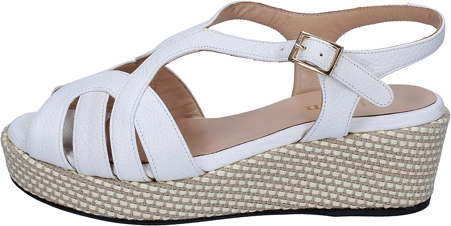 ALLISON Sandals Womens Leather White