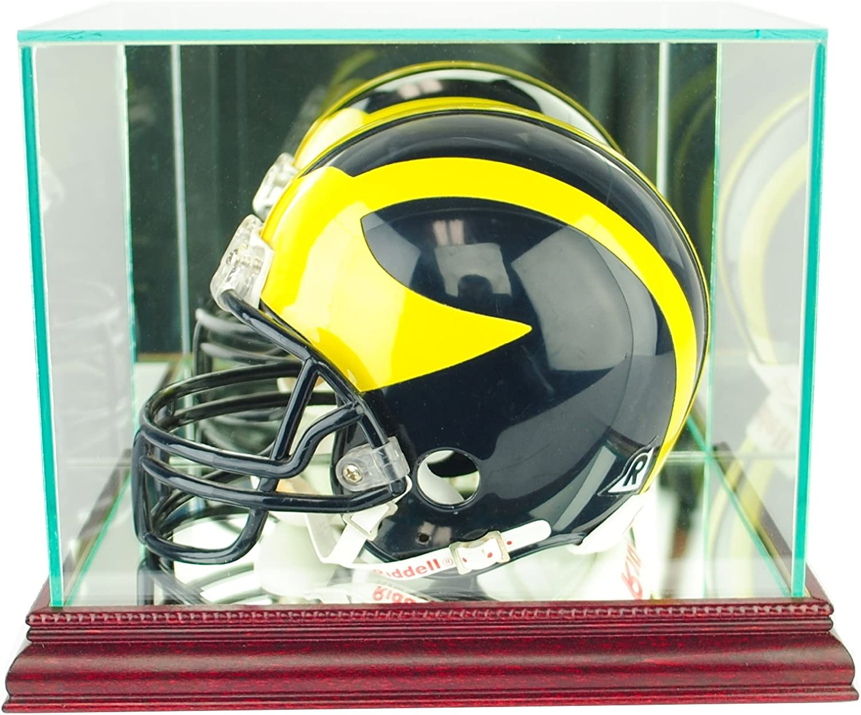b9984653 Perfect Cases NFL Mini Football Display Case Helmet Glass nxhegx5406 ...