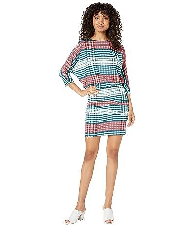 Nicole Miller Blouson Dress (Multicolor) Women