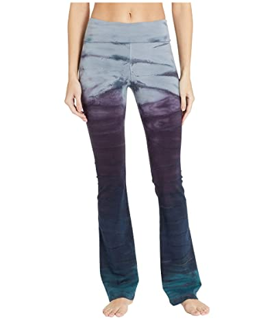 Hard Tail Rolldown Bootleg Flare Pants (Rainbow Horizon 78) Women