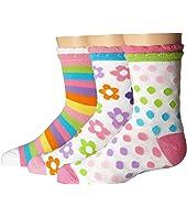 Daisy/Stripe/Dots Crew 3-Pack (Infant/Toddler/Little Kid/Big Kid)