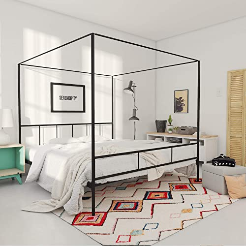 King Canopy Bed Amazon Com